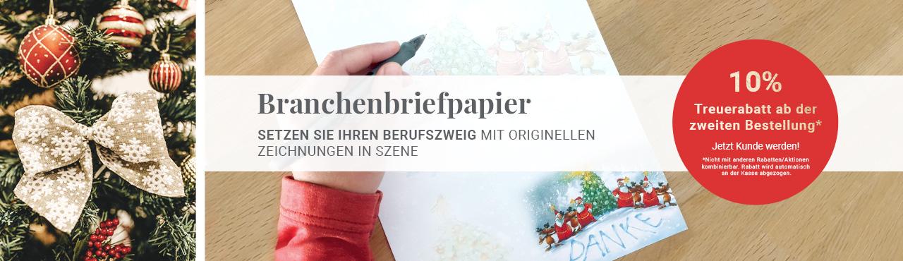 Branchenbriefpapier