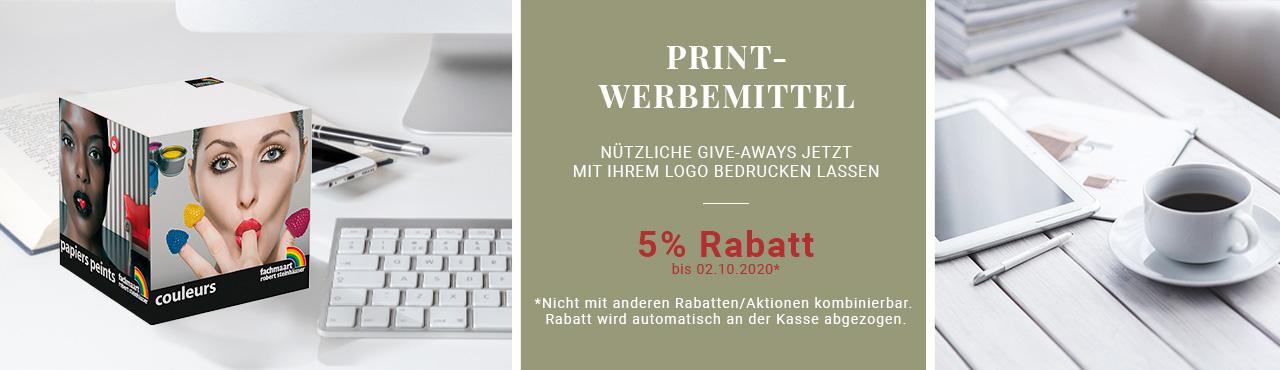 Print-Werbemittel