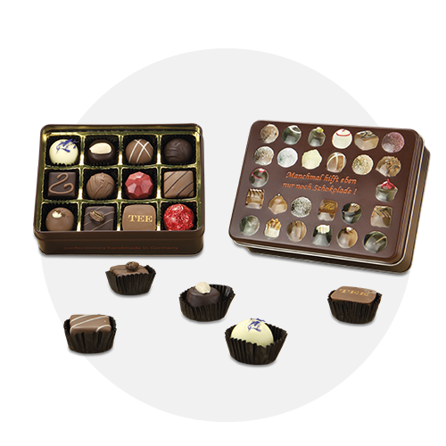 Schokoladenauswahl