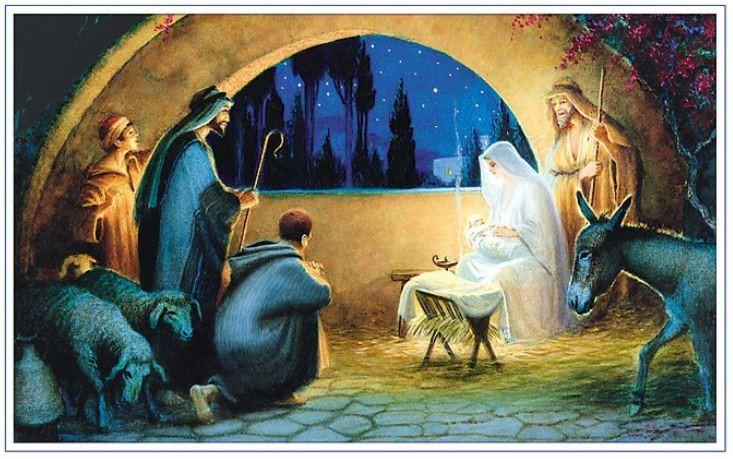 Malerei - Geburt Jesu Christi